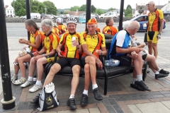 Cake ride part 2. Pete and Ray at Thornbury