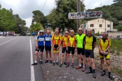 Mallorca - SVCC and our Yorkshire friends at the top of Lluc