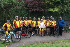 Tuesday riders at Dudbridge